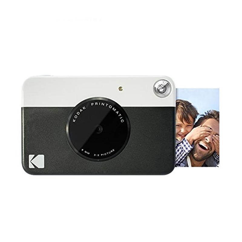 Kodak Printomatic Digital Instant Print Camera - Hitam