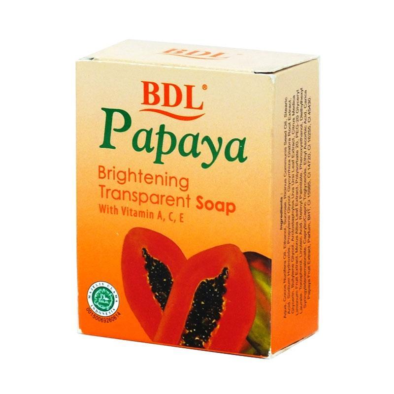 Jual Bdl Bar Papaya Transparant Sabun Wajah 90 G Online April 2021 Blibli