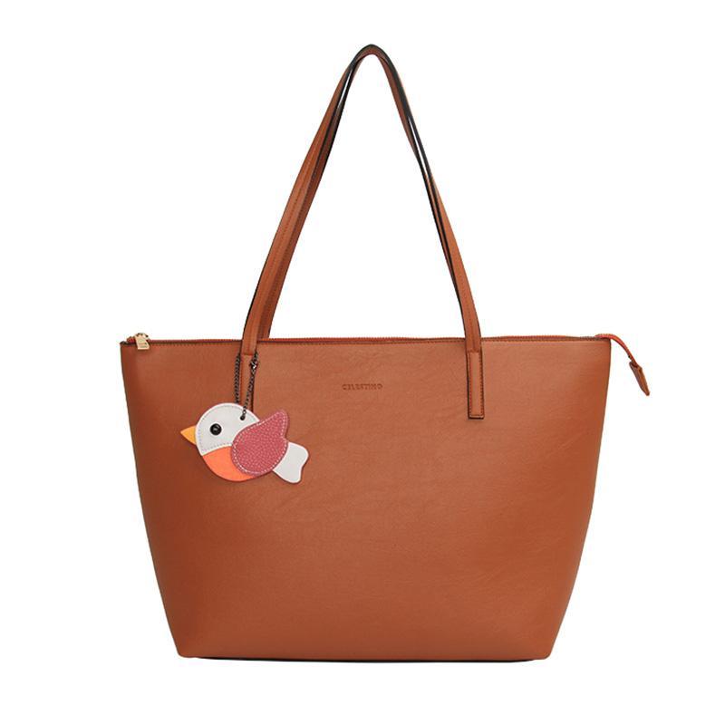 Celestino Malta Tote Bag Wanita Adobe