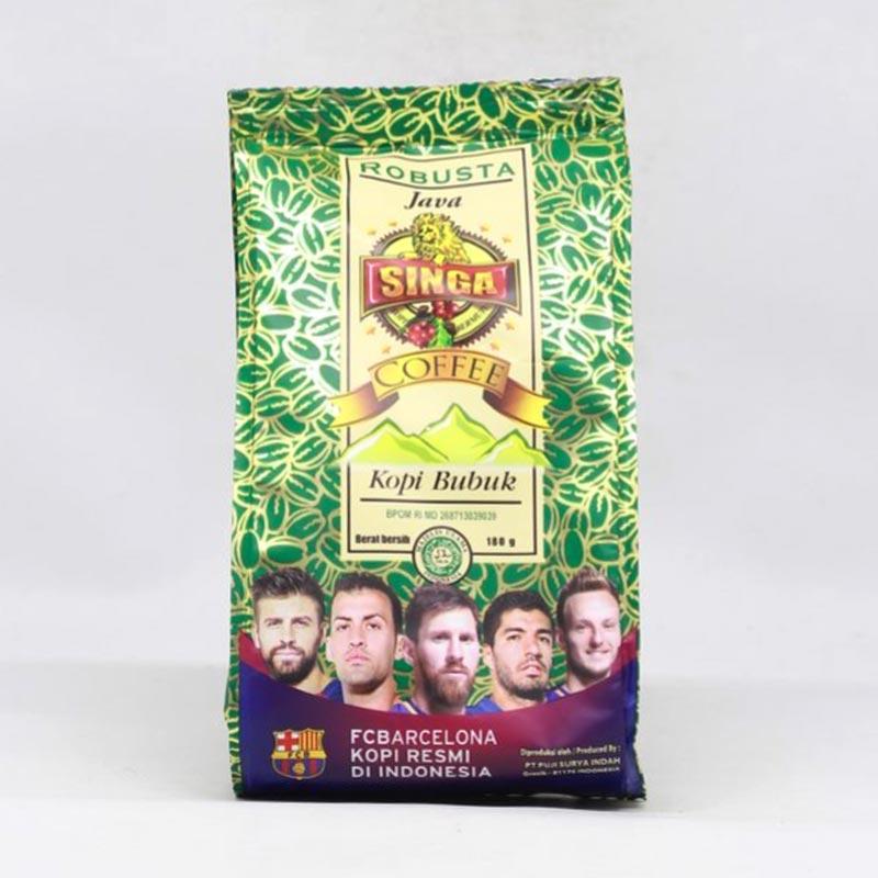 SINGA COFFEE Robusta Kopi Bubuk 180 g