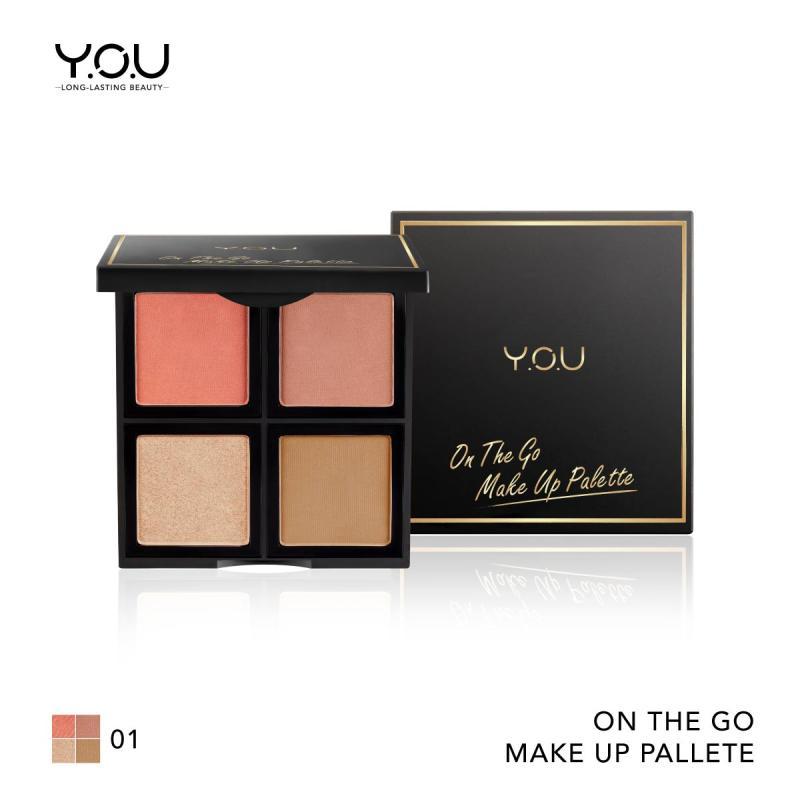 Y O U On The Go Perfect Contour Makeup Palette