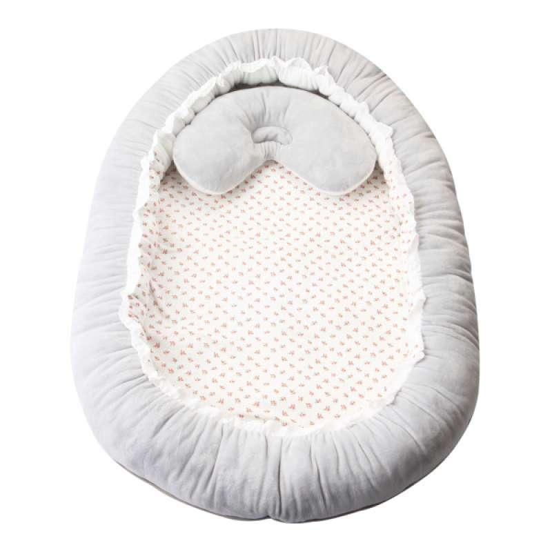 Jual Portable Bed Crib Nursery Cot Newborns Toddler Travel Cot Sleeping Nest Terbaru Juni 2021 Blibli