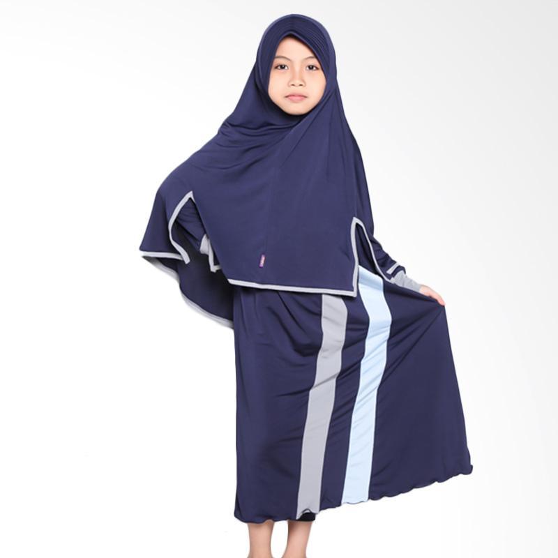 Allev Rifa Baju Muslim Anak - Dongker