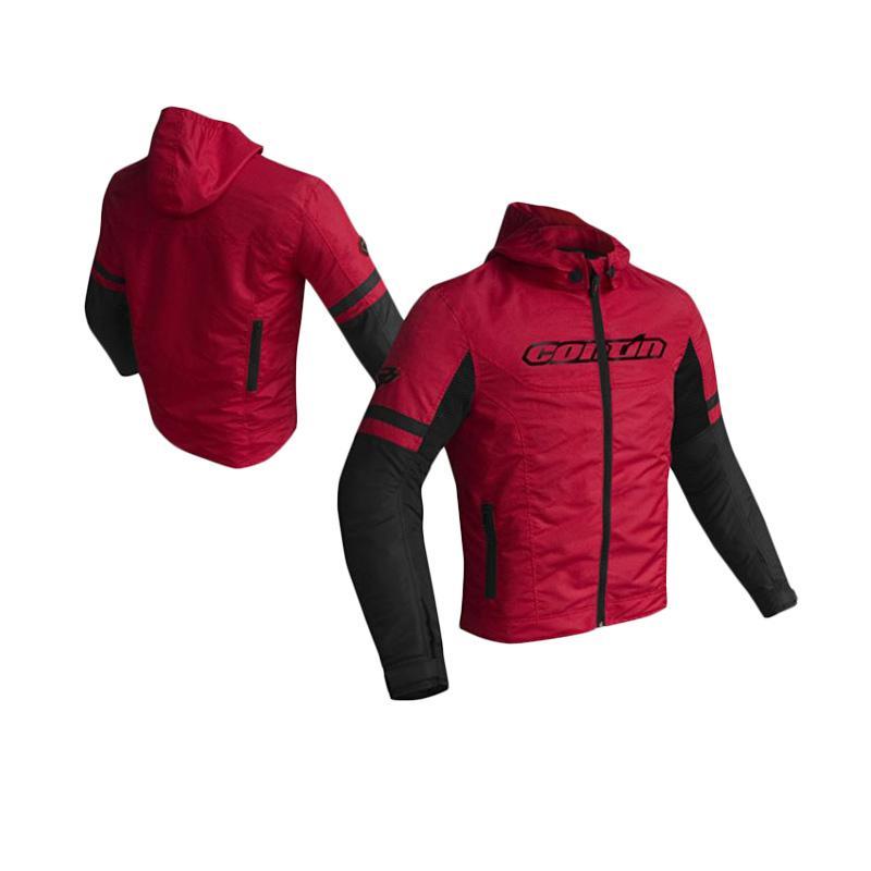 Contin Suave Jaket Motor - Merah