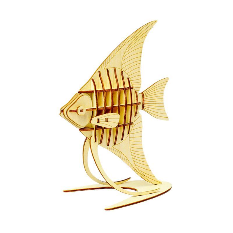 Kigumi Angelfish 3D Puzzle