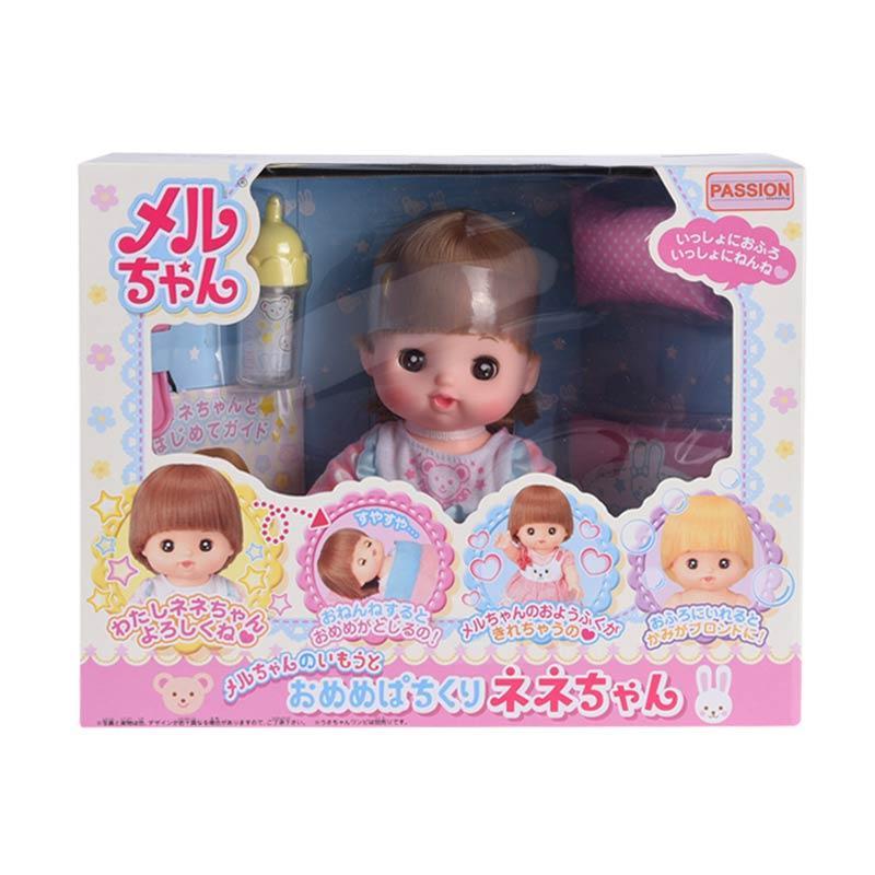 Mel Chan Nene Goog Night Set Mainan Anak