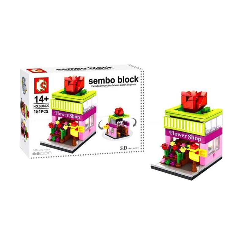 Sembo SD6029 Flower Shop Mini Blocks