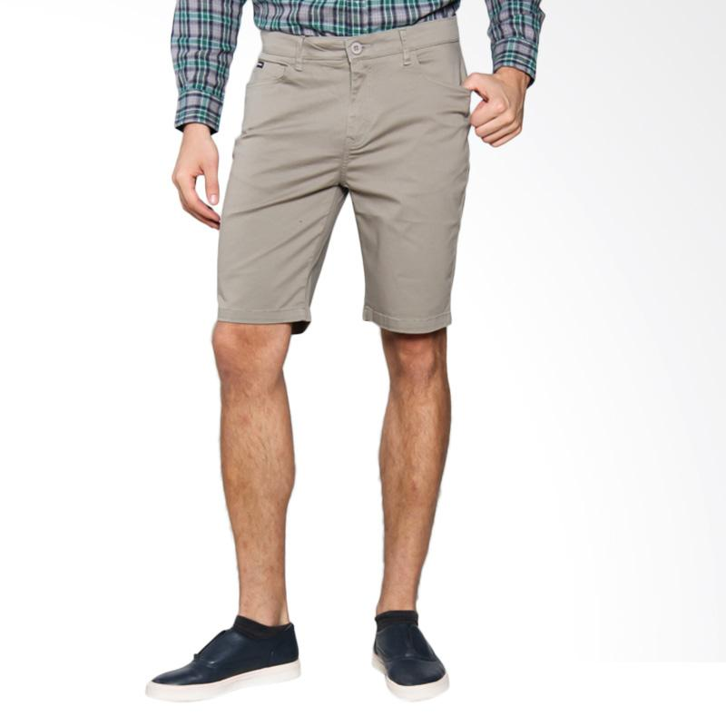 3SECOND Mens Relaxed 3 Pants - Cream 103041714
