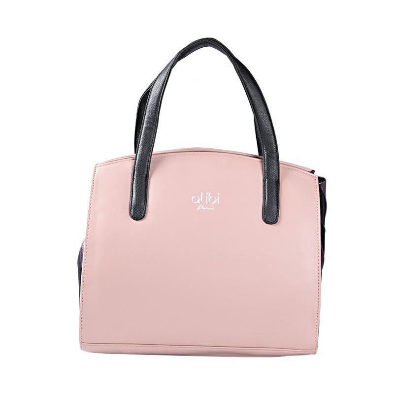 Alibi Coeur T0944D1 Tote Bag - Dusty Pink