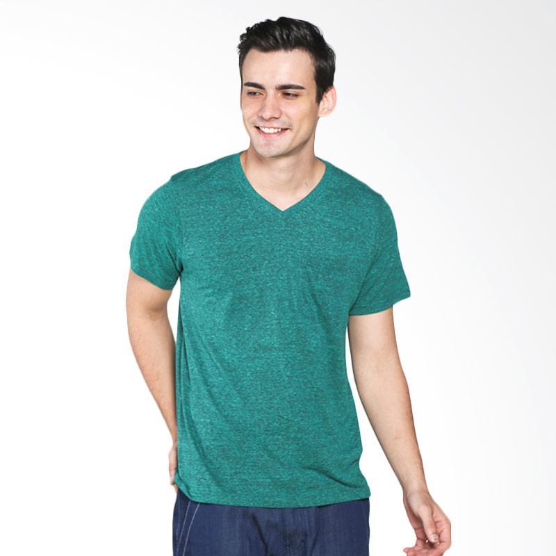 H&R Solid V Neck 17101-3D92N T-Shirt Pria - Green Extra diskon 7% setiap hari Extra diskon 5% setiap hari Citibank – lebih hemat 10%