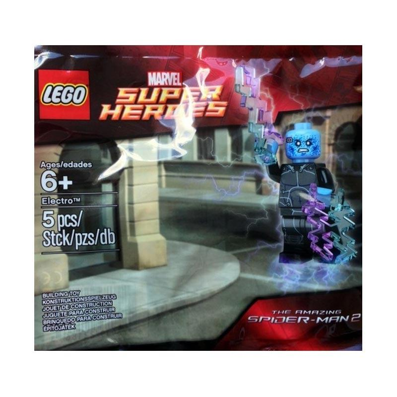 Lego Marvel Super Heroes Electro 5002125 Mainan Blok & Puzzle