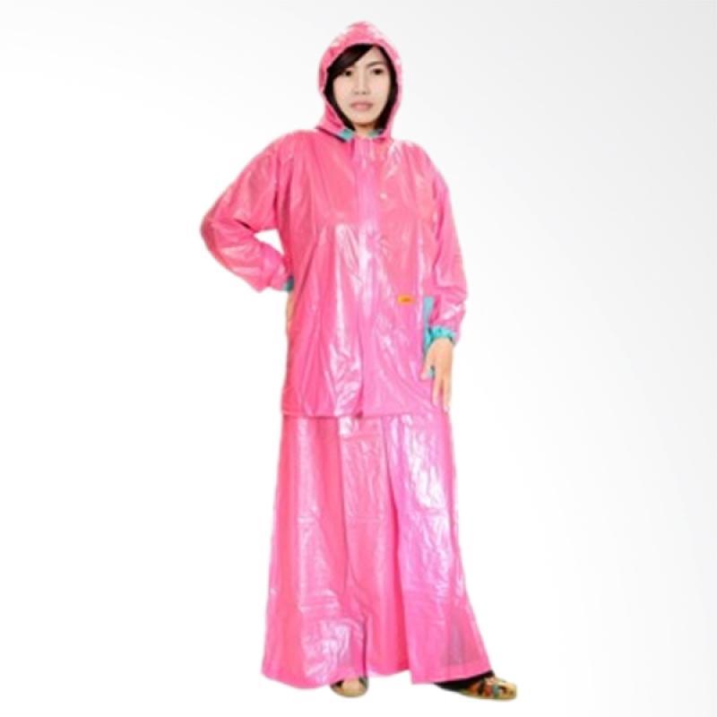 Rainwear Puspa Jas Hujan - Pink