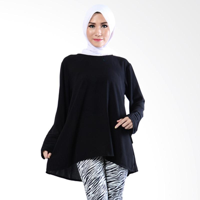Ayako Fashion AY Hera 714 Blouse - Hitam
