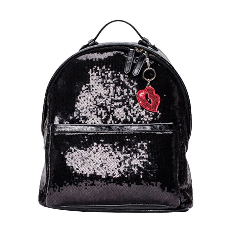 Brera Funny Blink Blink Backpack - Black