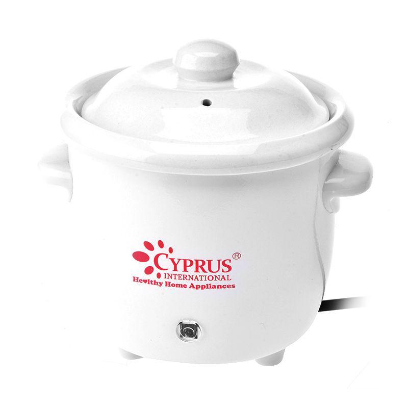 Cyprus Slow Cooker - White [0.7 L]
