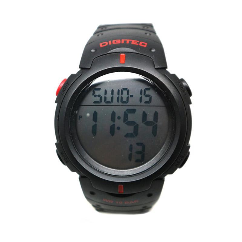 Digitec DG-3035T Jam Tangan Pria - Black Red