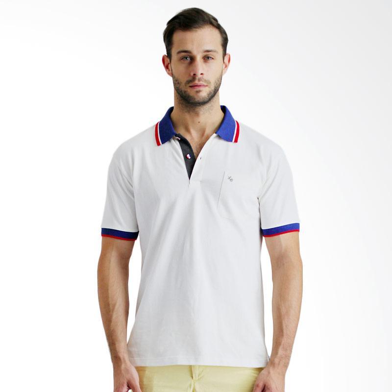 La bette 102630301 Polo Shirt Pria - White Extra diskon 7% setiap hari Extra diskon 5% setiap hari Citibank – lebih hemat 10%