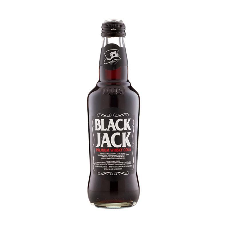 Black Jack Cola Minuman lainnya [275 mL]
