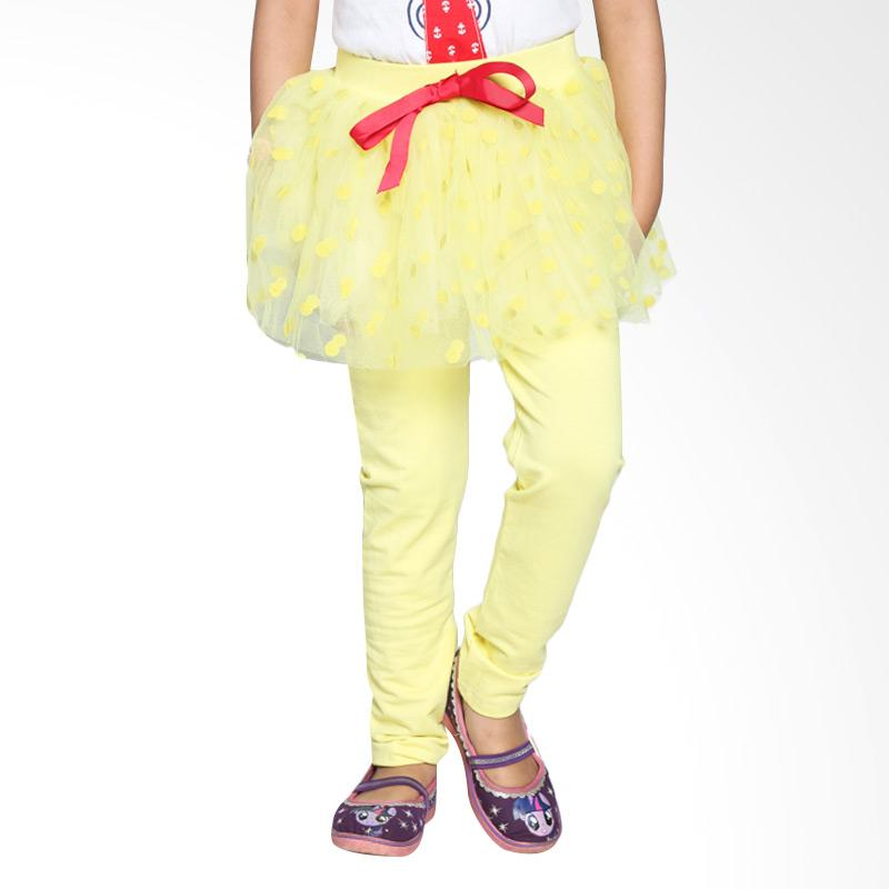 4 You Polkadot Long Pants - Kuning