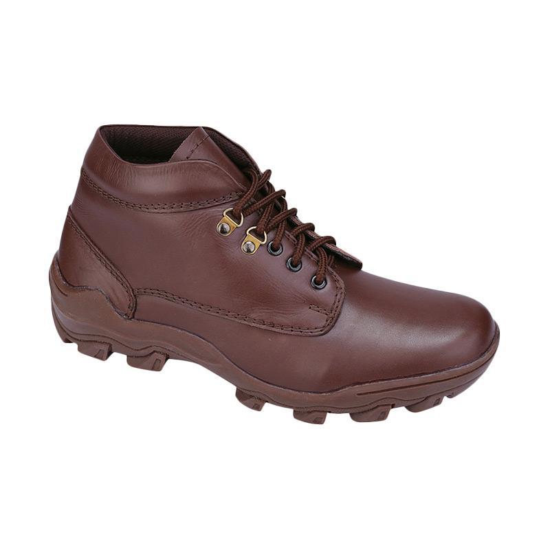 Catenzo MP 165 Sepatu Boots Pria - Brown