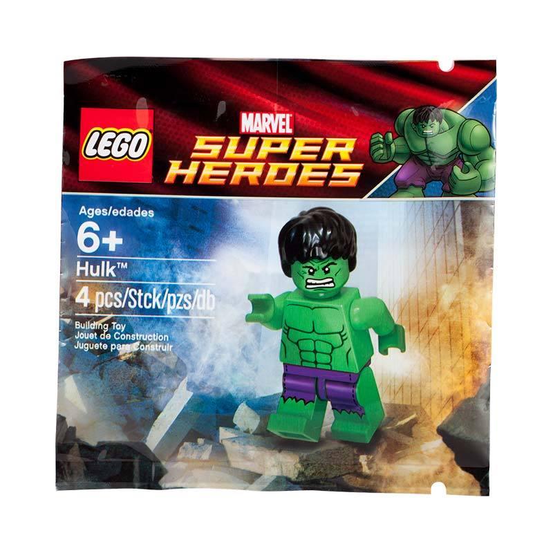 LEGO 5000022 Marvel Super Heroes The Hulk Mainan Block & Puzzle