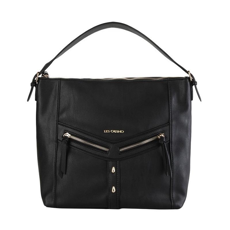 Les Catino Marciani Hobo Bag - Black