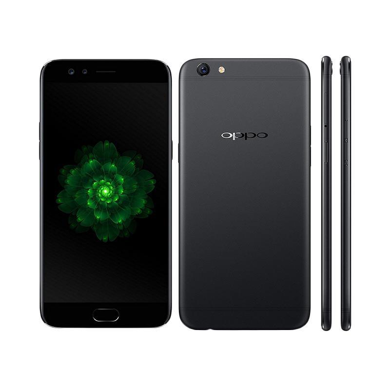 Oppo F3 Plus Smartphone - Black [64GB/4GB] + Free Tongsis