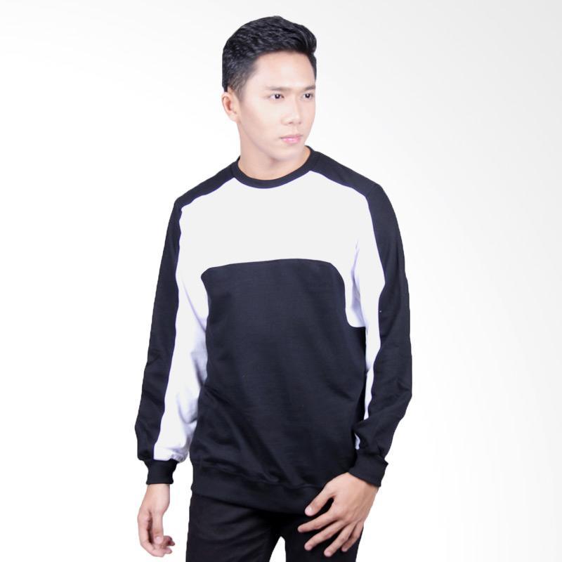 Word.O Major Sweater - Black White