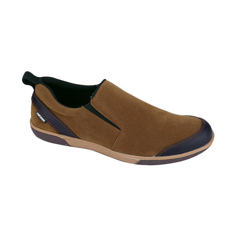 Catenzo NT 041 Sepatu Kasual Pria - Tan
