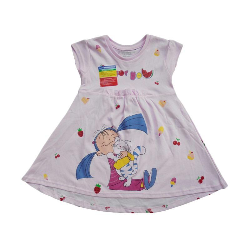 Piteku For You Dress Anak - Pink