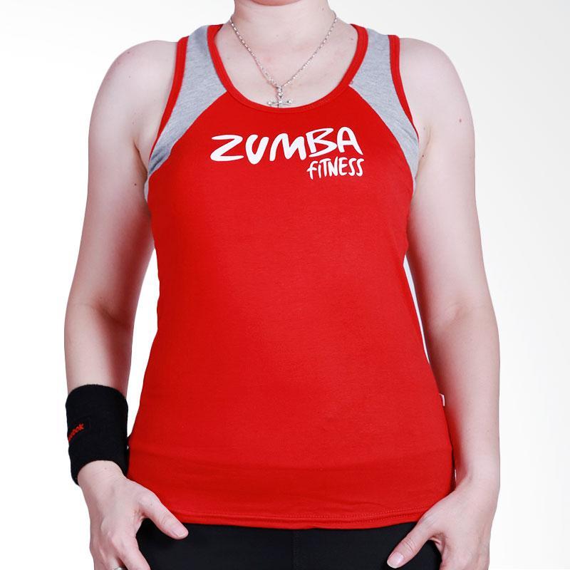 Ronaco AB03 Zumba Sleeveless T-shirt - Merah