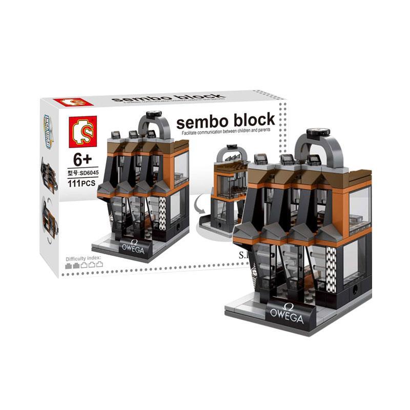 Sembo SD6045 Watches Shop Mini Blocks