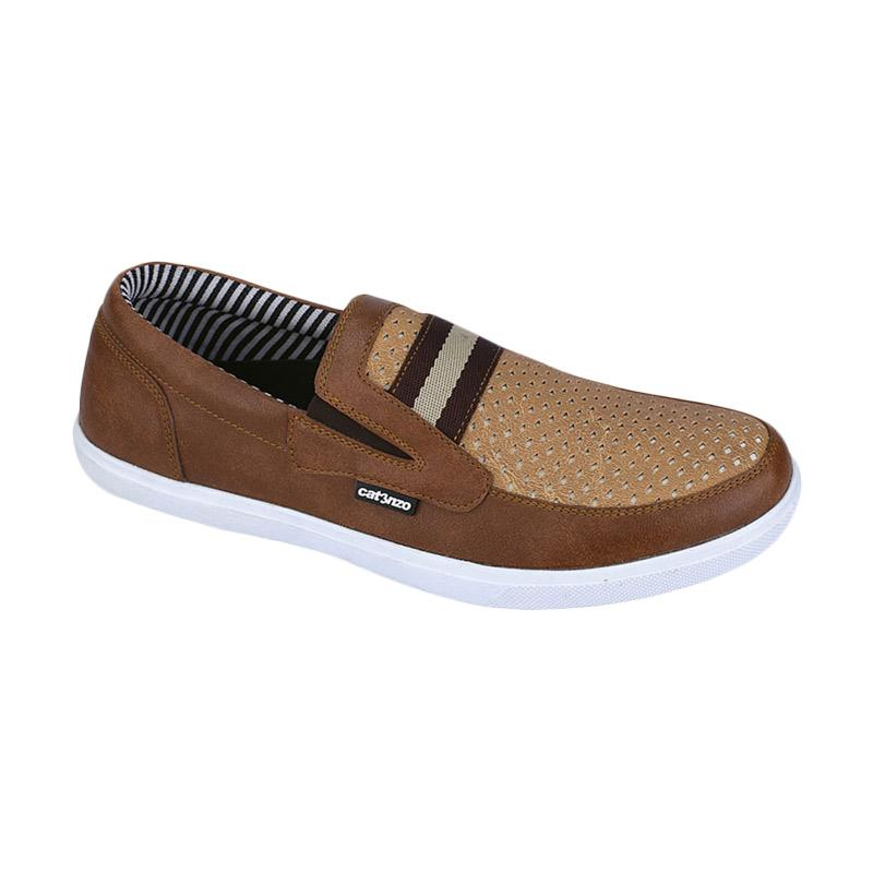 Catenzo NT 042 Sepatu Kasual Pria - Brown