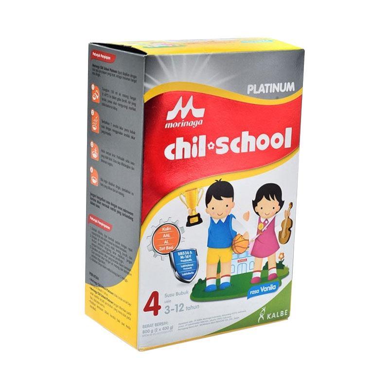 Morinaga Chil School Platinum Susu Formula - Vanila [800 G]