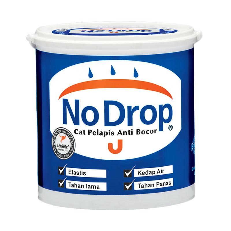 NO DROP 010 Cat Pelapis Anti Bocor - Abu-Abu Muda [4 kg]