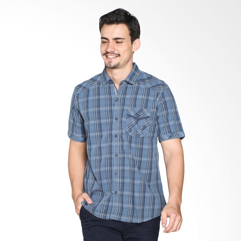 Red Cliff ZC1528JF Casual Shirt - Grey Extra diskon 7% setiap hari Extra diskon 5% setiap hari