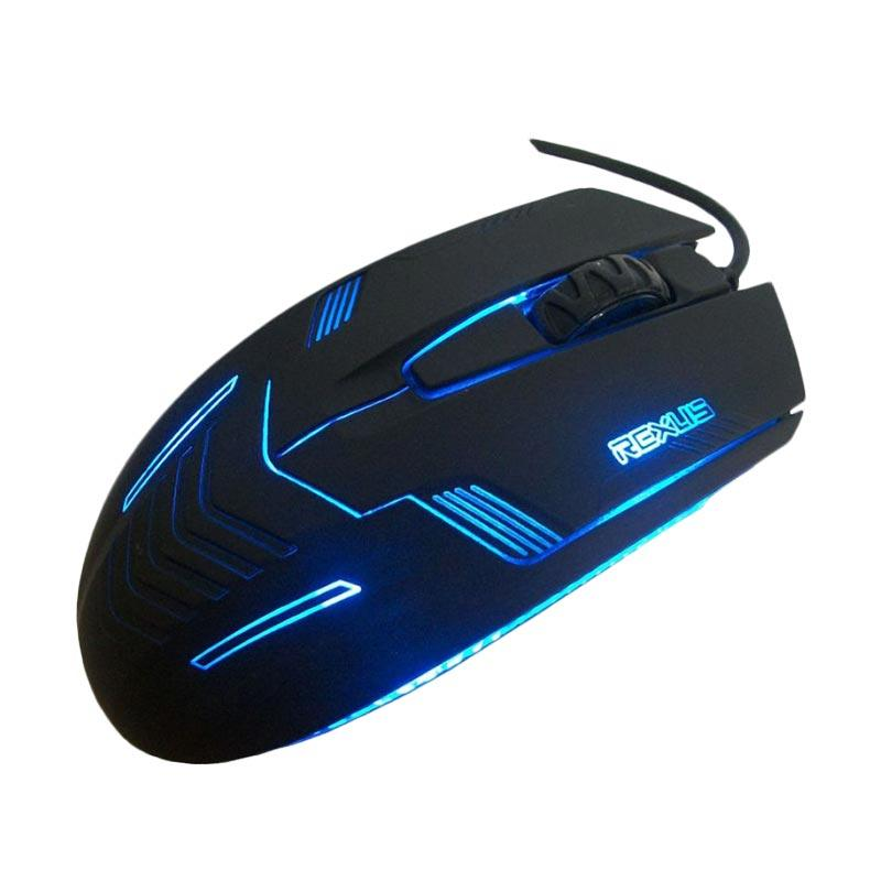 Rexus RXM-G3 Gaming Mouse - Hitam