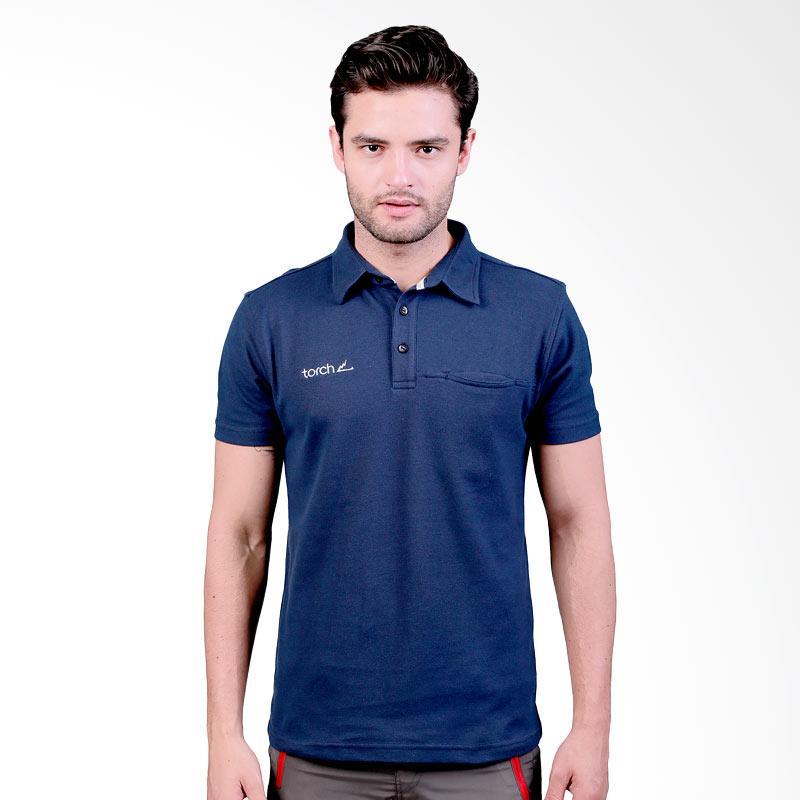 Torch Seri Gidea Polo Shirt Pria - Navy Extra diskon 7% setiap hari Extra diskon 5% setiap hari Citibank – lebih hemat 10%