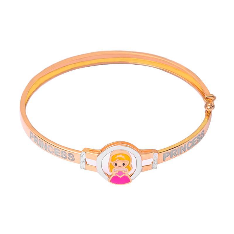 Gold Kids Bangle - Gelang Emas Anak Kadar 37,5