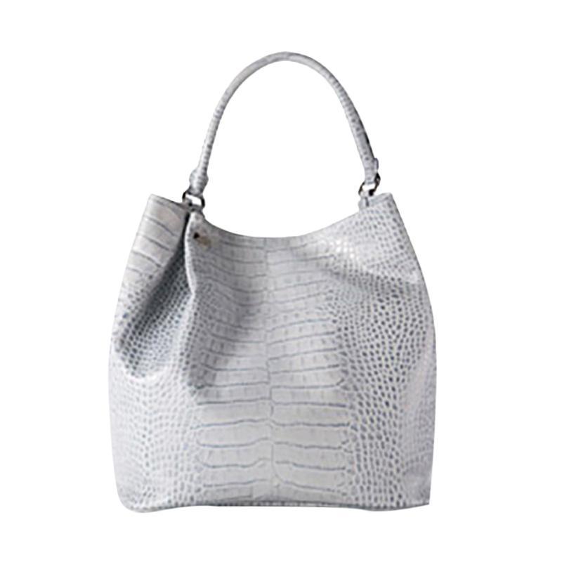 Brera Elegant Fashionable Handbag - Grey