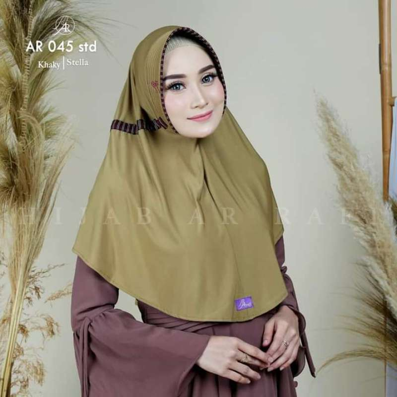 Jual Jilbab Hijab Arrafi Ar 45 A Kerudung Krudung Bergo Khimar Instan Instant Murah Diskon Fashion Muslim Kekinian Terbaru Online Maret 2021 Blibli