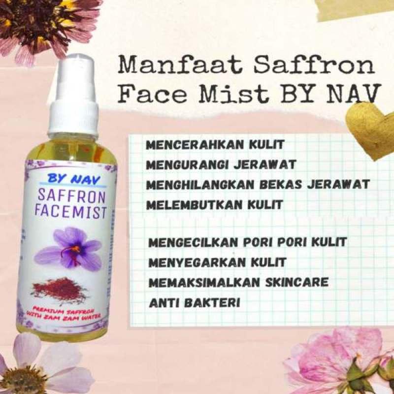 Jual Nav Shop Saffron Facemist Spray Wajah By Nav Online April 2021 Blibli