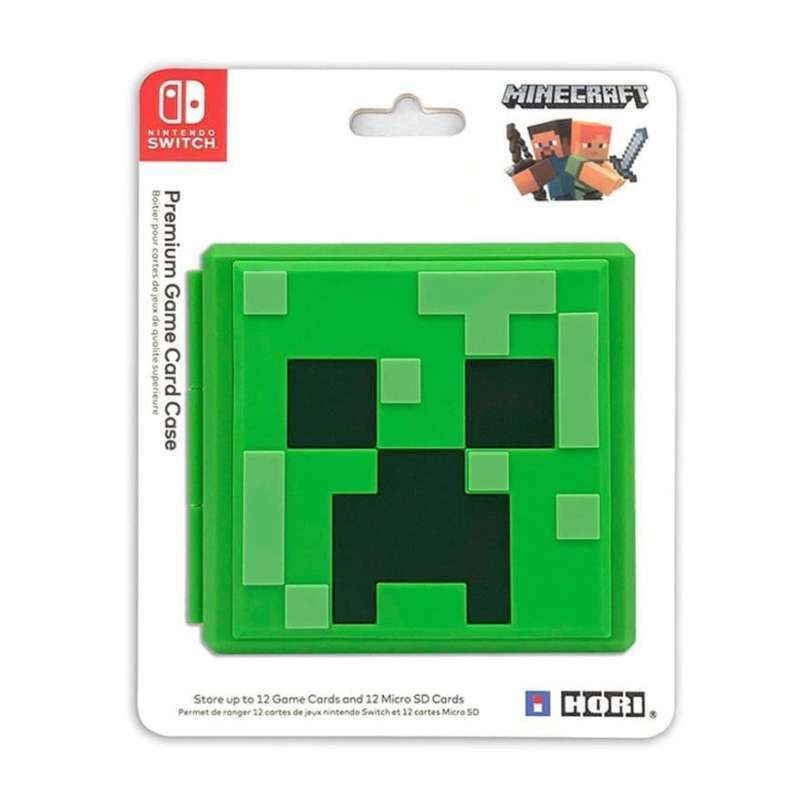Jual Nintendo Switch Hori Premium Game Card Case Minecraft Storage Micro Sd Online Februari 2021 Blibli