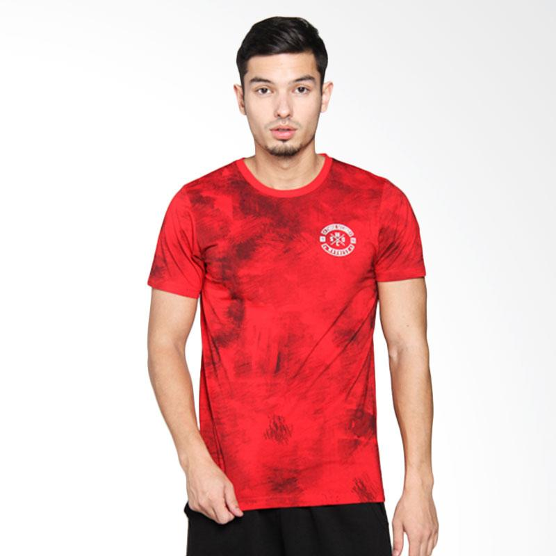 3Second Men Tshirt - Red 116051712