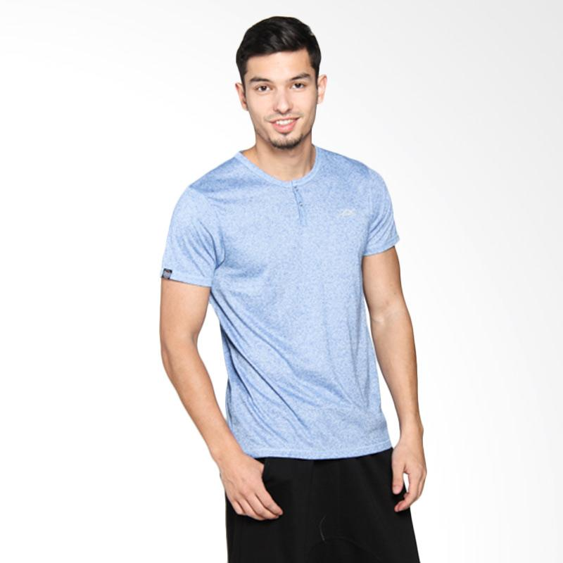 3SECOND Men T-Shirt - Blue 123051712