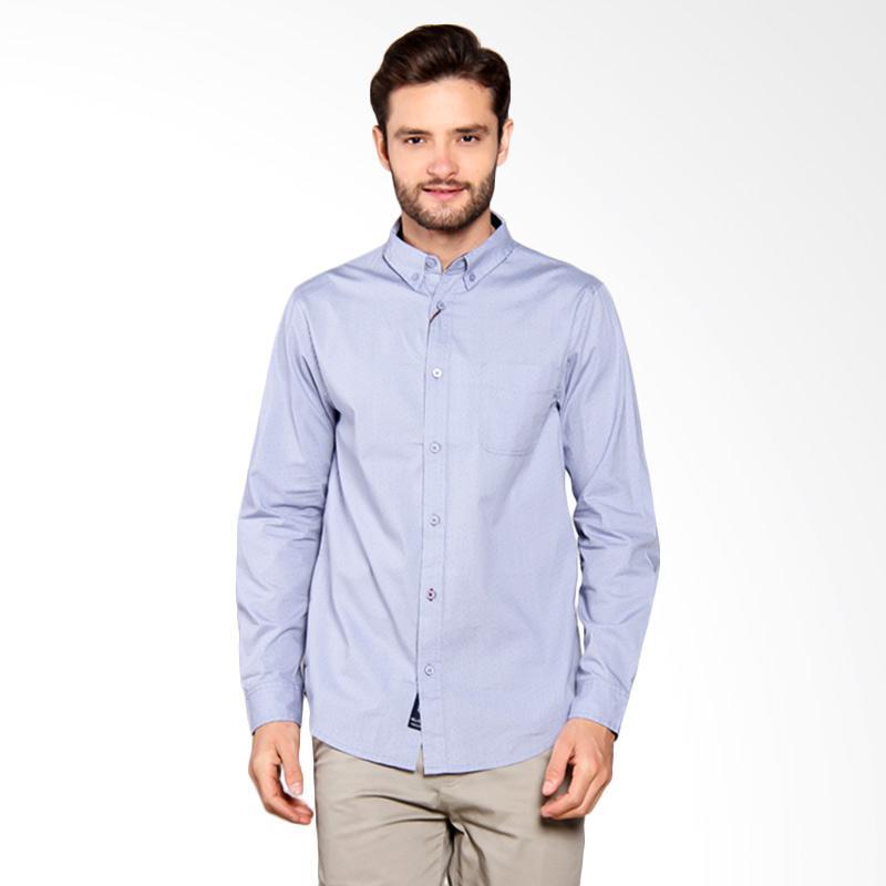 Famo Plain Basic Shirt - Blue [511051711]