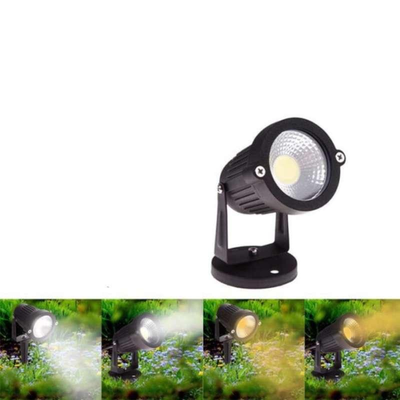 Jual Lampu Led 5 Watt Cob Tancap Sorot Taman Kuning Online April 2021 Blibli
