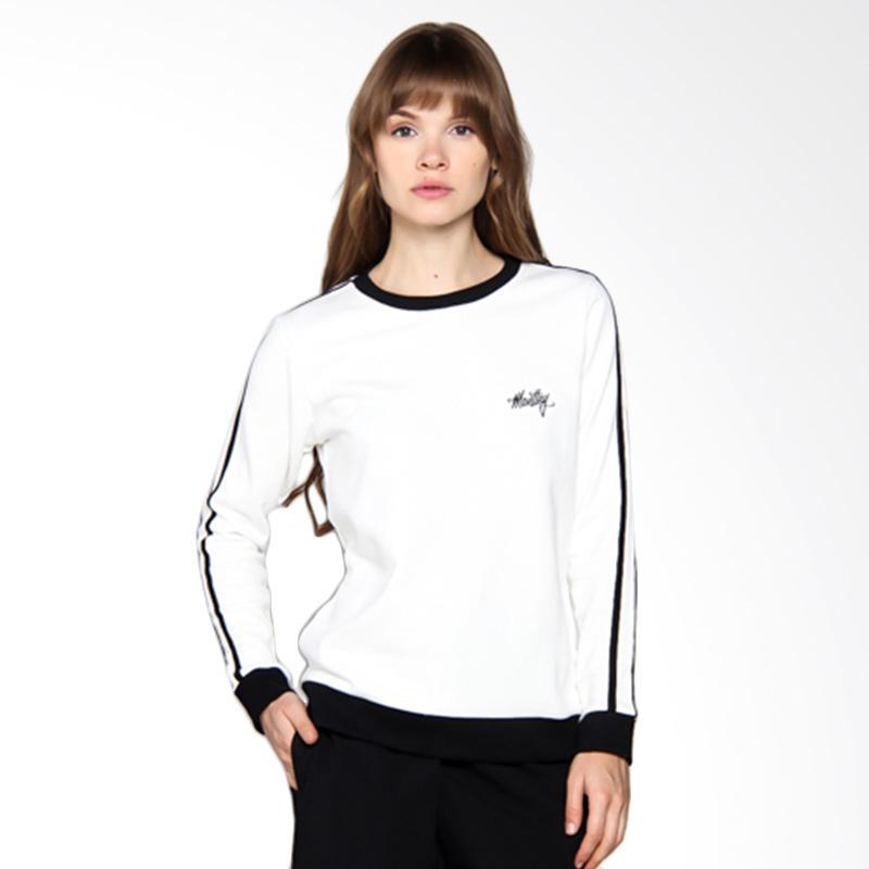 Moutley Ladies Casual Girls 303051725 Jacket Wanita - White