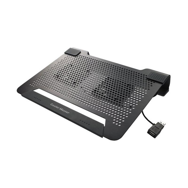 Cooler Master Notepal U2 Plus Cooling Pad - Hitam