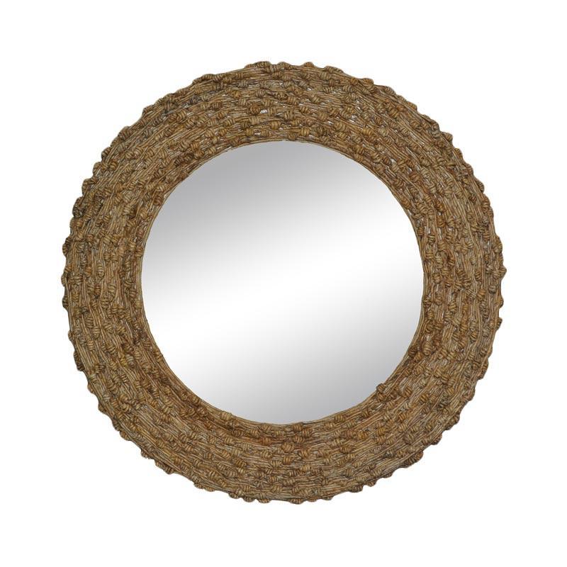 De Erniest Natural Rattan Mirror